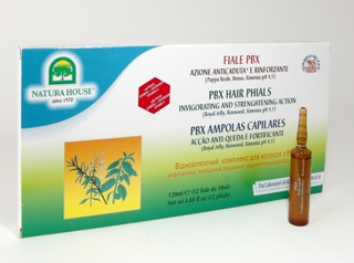 PBX Haar Phiolen (12 x 10 ml) - Natura House