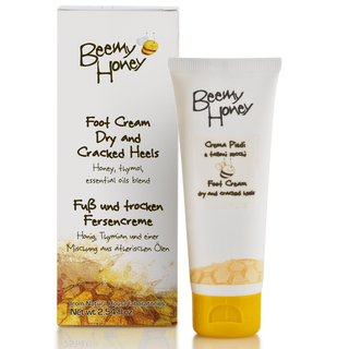 Fusscreme Propolis rissige trockene Füsse (75ml) Beemy Honey