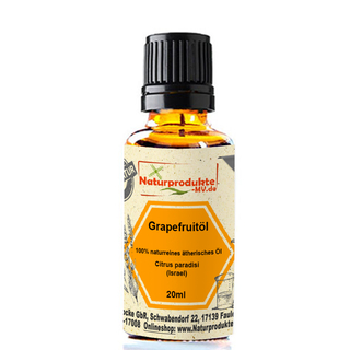 Grapefruitöl (20 ml) naturreines ätherisches Grapefruit Öl