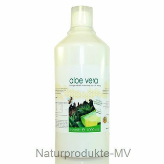 aloe vera saft mit honig 1000ml 9 95. Black Bedroom Furniture Sets. Home Design Ideas